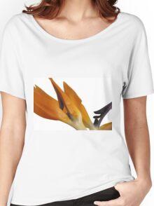 Bird of Paradise Macro Women's Relaxed Fit T-Shirt