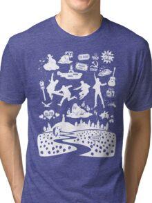 Fab Four Mixtape Tri-blend T-Shirt
