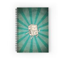 Metal BMO Spiral Notebook