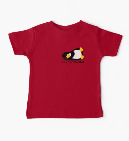 LINUX TUX THE PENGUIN Baby Tee