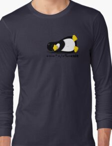 LINUX TUX THE PENGUIN Long Sleeve T-Shirt