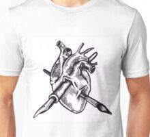 Heart of an artist Unisex T-Shirt