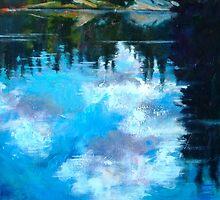"Undercurrents 48"" x 36""  by Holly Friesen"