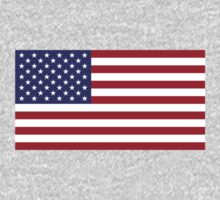 United States of America - American - Independence Day Apparel T-Shirt One Piece - Long Sleeve