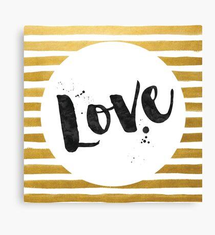 Love Design Canvas Print