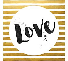 Love Design Photographic Print