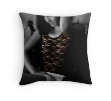 Portrait in Fragrance Throw Pillow