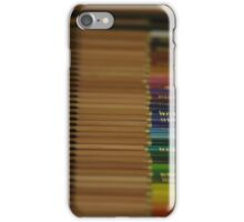 Coloured Crayons DoF iPhone Case/Skin