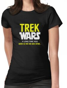 TREK WARS Womens Fitted T-Shirt