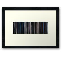 Moviebarcode: Alien (1979) Framed Print