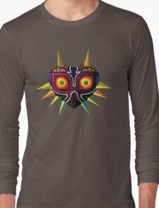 Low Poly Majora's Mask Long Sleeve T-Shirt