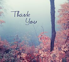 misty 02a - Thank You card by 1001cards