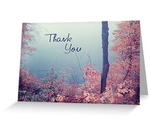 misty 02a - Thank You card Greeting Card