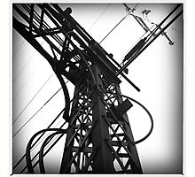Iron and electricity Photographic Print