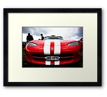 Dodge Viper Framed Print