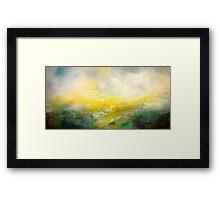 The Sight of Salt Wind Hounded Framed Print