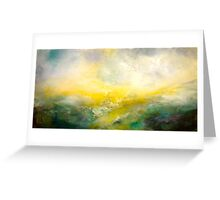 The Sight of Salt Wind Hounded Greeting Card