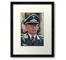 Officer Framed Print
