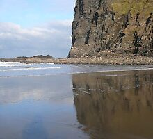 CLIFF IN THE MIRROR AT CRACKINGTON by tinaskyscape