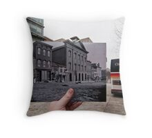 Looking Into the Past: Ford's Theatre, Washington, DC Throw Pillow