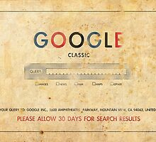 Classic Search Engine by oasisak
