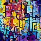 Odd Machinations - Geometric Abstracts by Regina Valluzzi