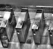 Turnstiles  by Marcia Rubin