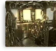 The commander deck Canvas Print