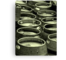 Bays Brewery Barrels Canvas Print