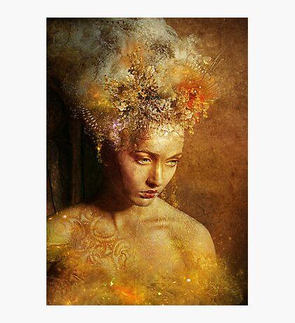 High Priestess Earth Photographic Print