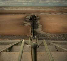 Beach Steps by John Hare