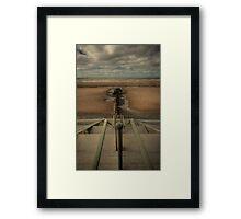 Beach Steps Framed Print