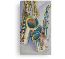Saxy Trio Canvas Print