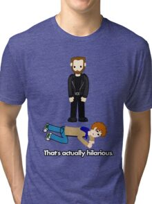 Scott Pilgrim - Lucas Lee - That's Actually Hilarious Tri-blend T-Shirt