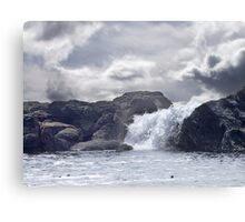 Ocean Waterfall Canvas Print