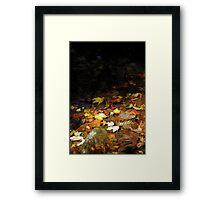Falls Fallen Framed Print
