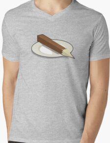 Stake - Served raw. Mens V-Neck T-Shirt