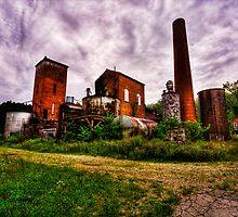 Back Again-Abandoned Distillery by eyesfriedopen