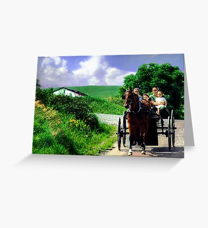 Are we there Yet? Greeting Card