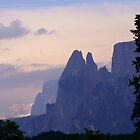 Sunset in the Dolomites by Melva Vivian