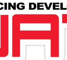 wat racing development Sticker