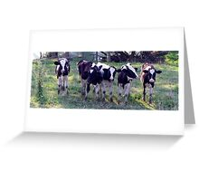 Now line em up! Greeting Card