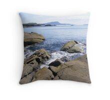 Near Easdale, Seil Island Throw Pillow