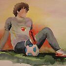 ALEXANDRE PATO  Football player. by Marilia Martin