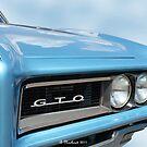 1968 Pontiac GTO - Beauty And Brawn by Betty Northcutt