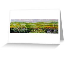 Summer Valley Greeting Card