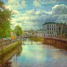 A River City - Cork, Southern Ireland by Mark Richards