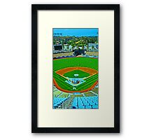 L.A. Baseball - Home of the Dodgers Framed Print