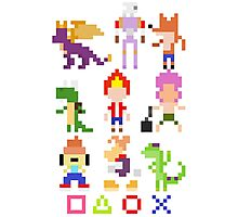 Playstation Legends pixel 2 Photographic Print