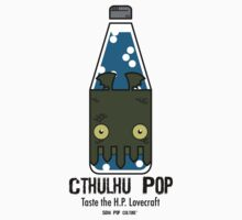 Cthulhu Pop - Taste the H.P. Lovecraft Kids Tee
